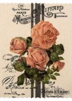[Obrus/podložka kusový - Rose 35 x 45 cm]