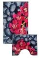 [Predložka do kúpeľne 3D - orchidea - 850/022]