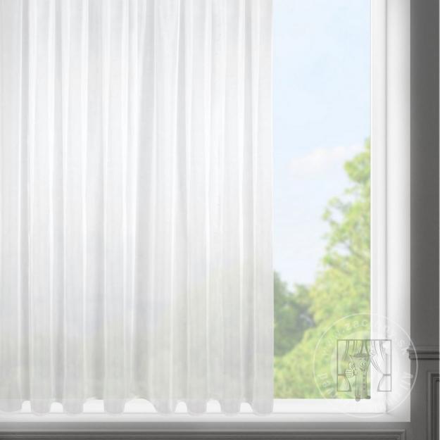 [Záclona LUCY na páske biela 300x150cm]