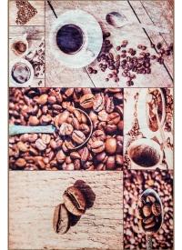 [Predložka do kuchyne 3D - kávové zrnká - 3030/108]