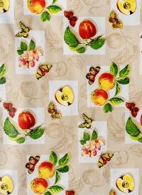 [Obrus PVC - metráž 140 cm - jablká a motýle]