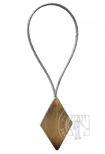 Dekoračný magnet zlatý - krátky