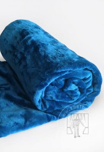 Deka z mikrovlákna SLEEP WELL® modrá