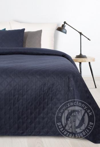 Prehoz na posteľ BONI námornicky modrý