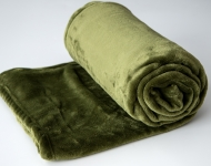 Deka z mikrovlákna SLEEP WELL® zelená