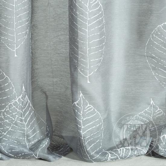 Záclona SENA oceľovo sivá 140x250cm