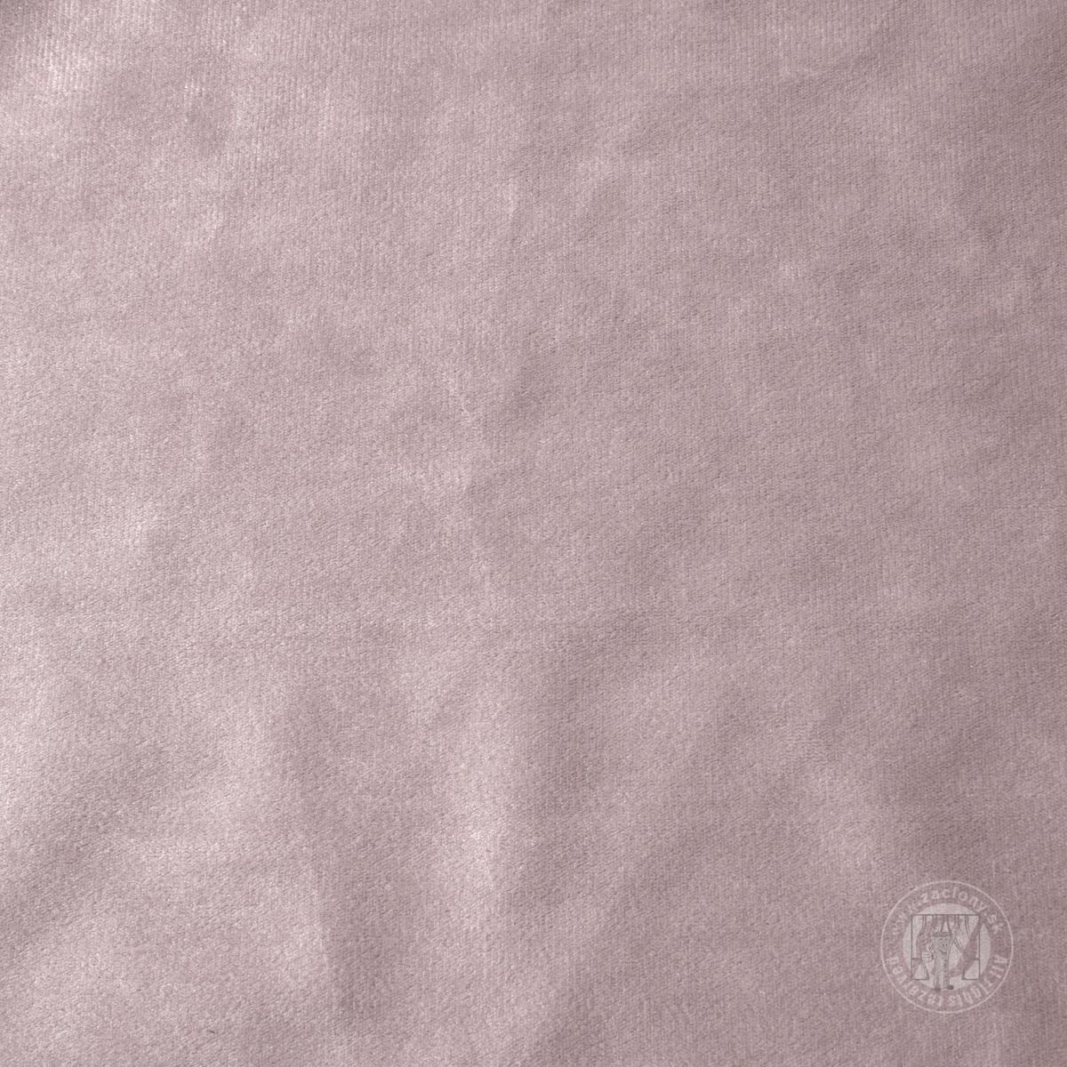 Záves ROSA na krúžkoch púdrový 140x250cm