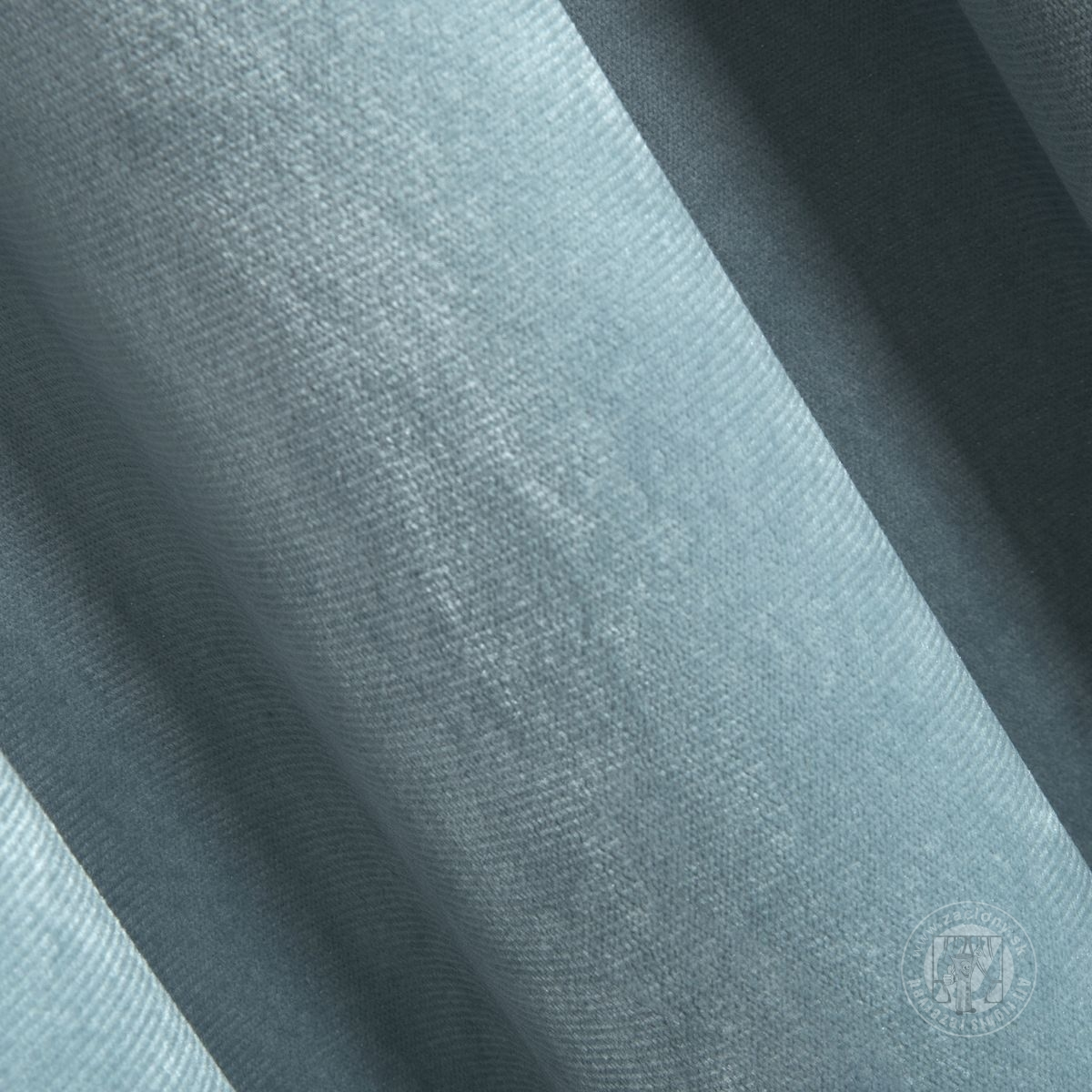 Záves ROSA na krúžkoch svetlomodrý 140x250cm
