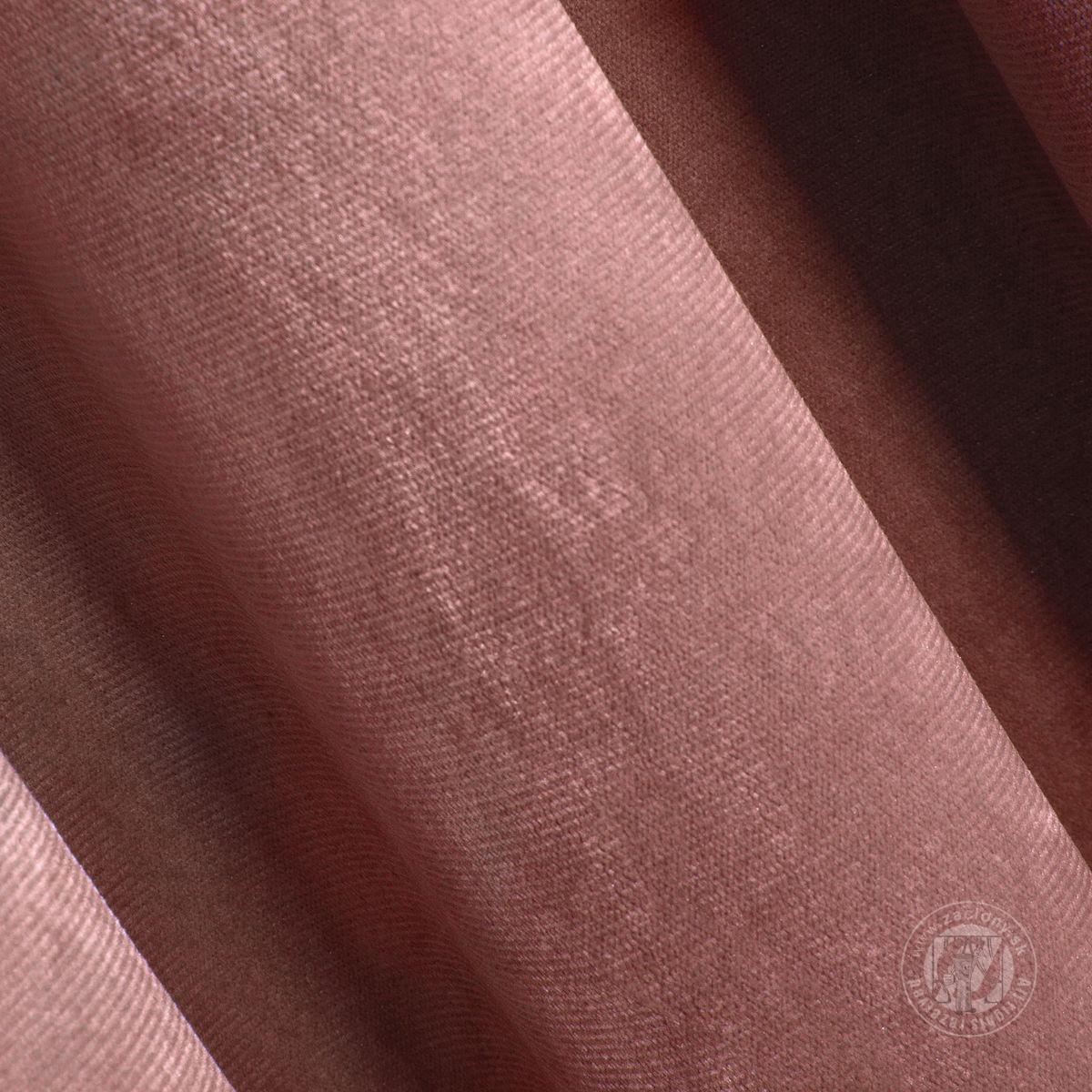Záves ROSA na krúžkoch tmavoružový 140x250cm