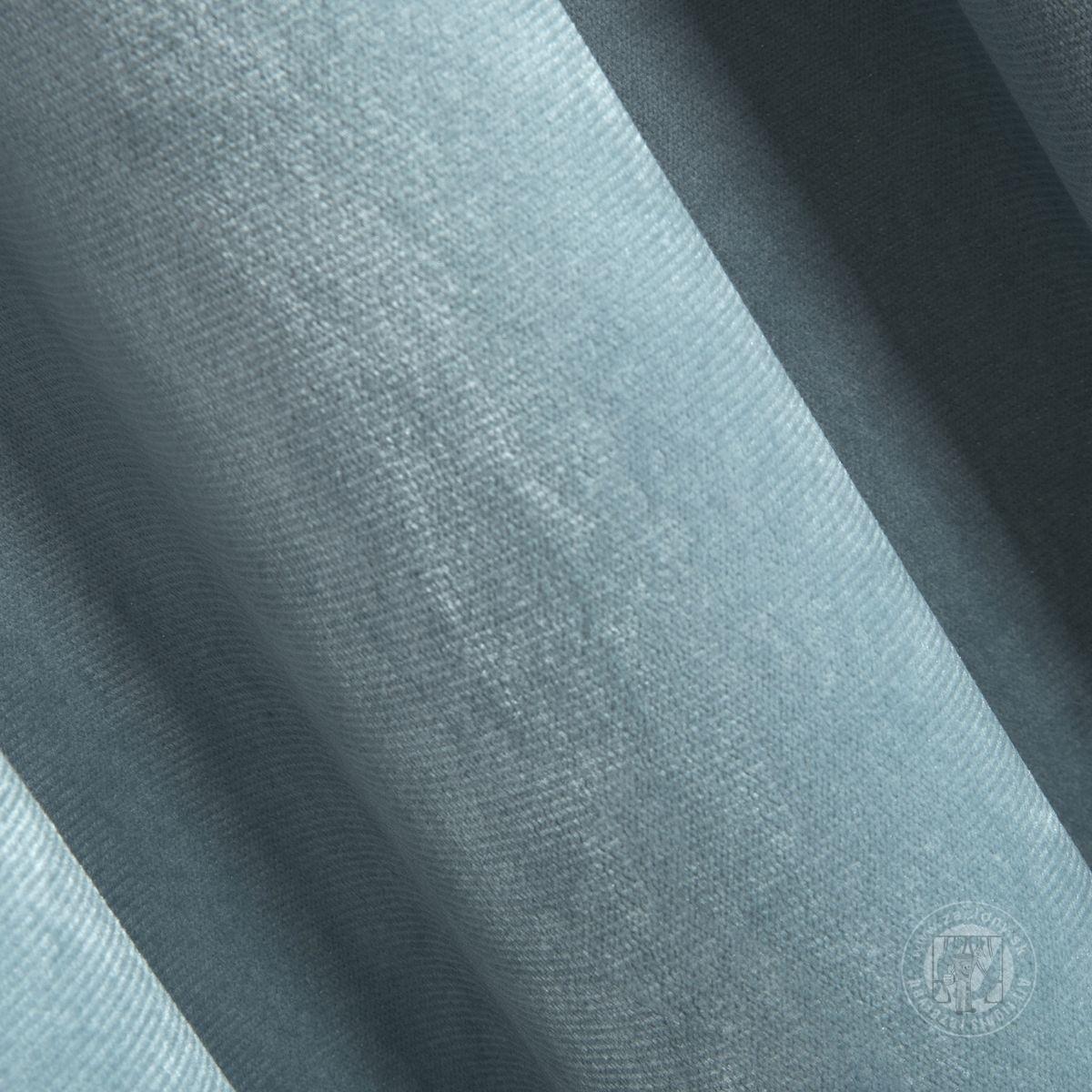 Záves ROSA na páske svetlomodrý 140x270cm
