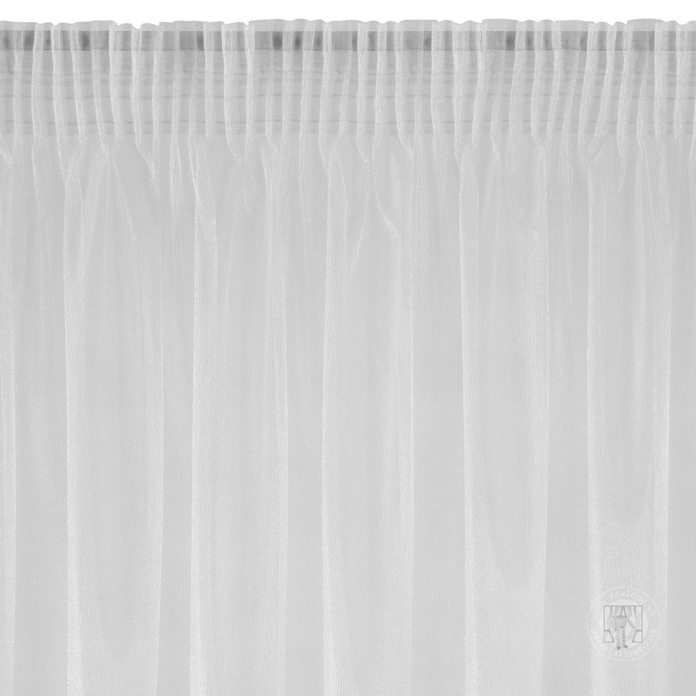 Záclona ALEXA biela na páske 350x250cm