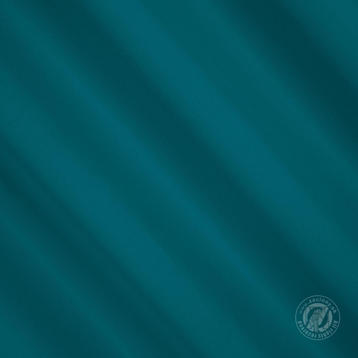 Záves PARISA na krúžkoch morská modrá 135x250cm