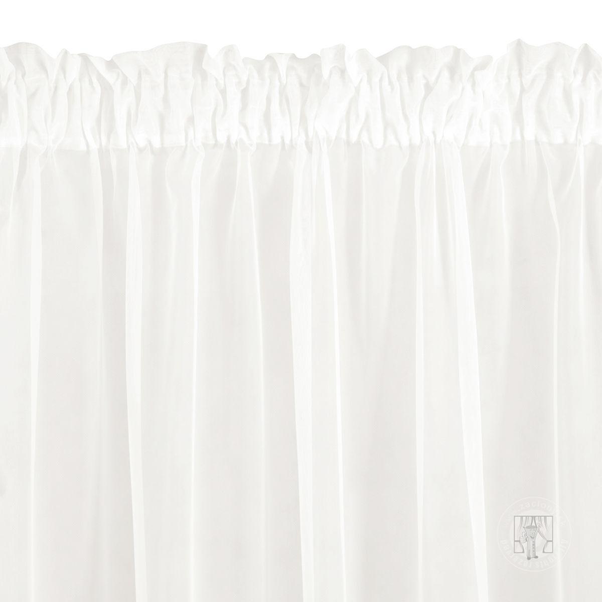 Záclona Rebecca na páske krémová 350x250cm
