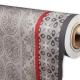Obrus PVC - metráž 140 cm pačvork sivý
