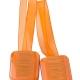 Dekoračný magnet oranžový