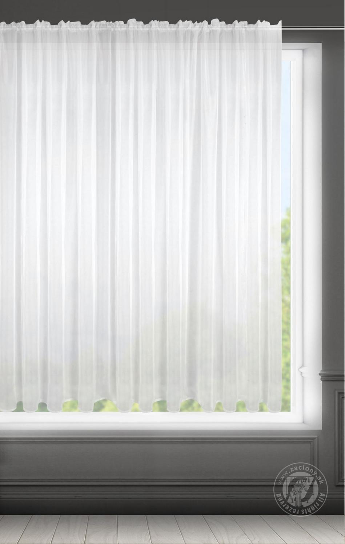 Záclona LUCY na páske biela 400x150cm