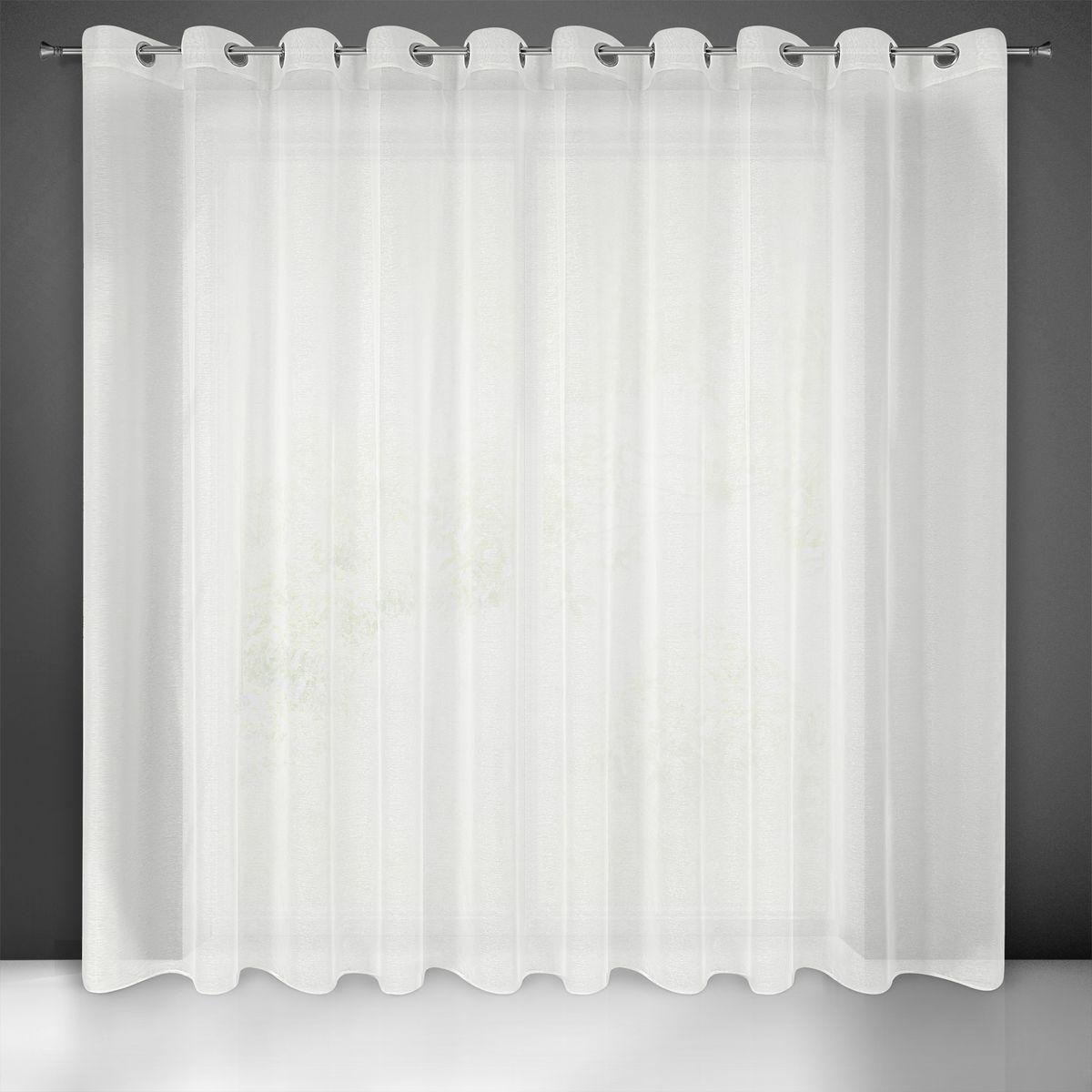 Záclona Rebecca na krúžkoch krémová 350x160cm