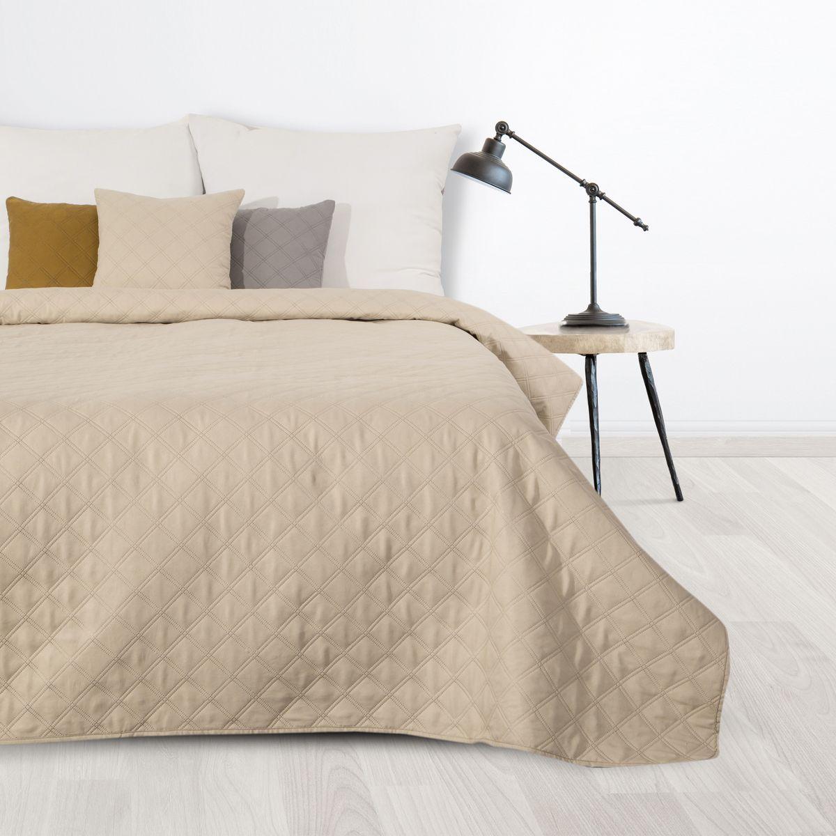 Prehoz na posteľ BONI3 krémový