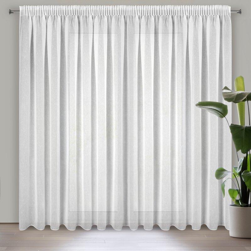 Záclona SONIA na páske 300x250